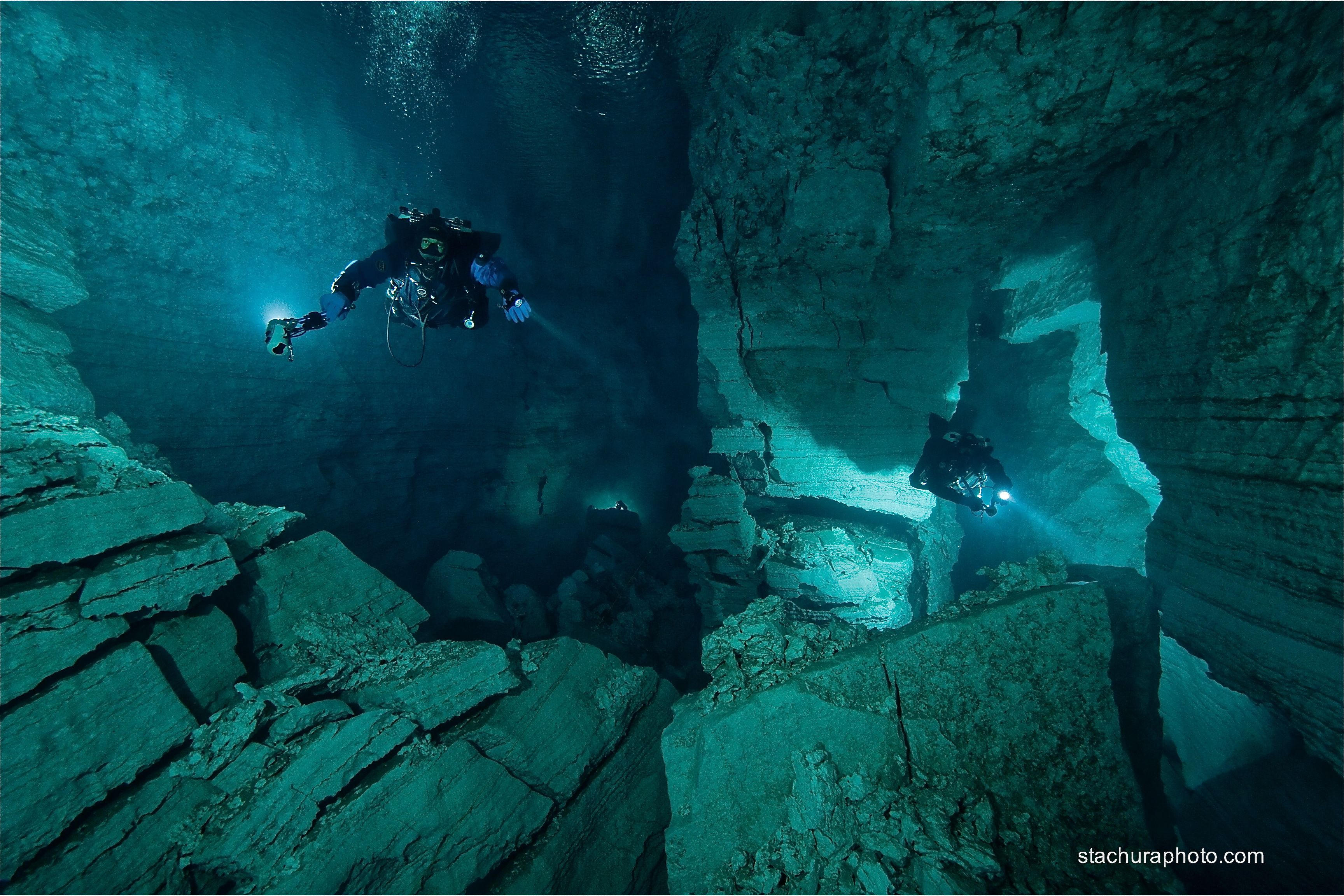 Orda cave,Photo taken in Russia. picture, Cave diving ...