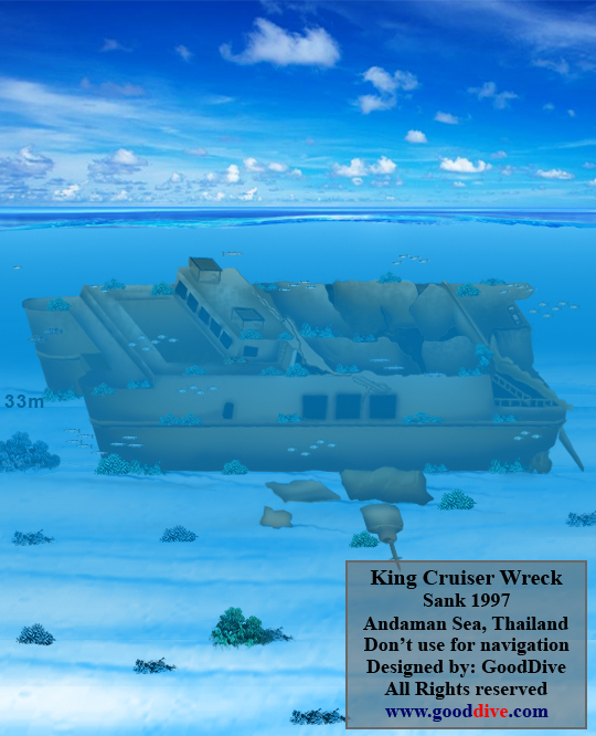 Wreck of King Cruiser