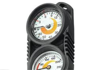 Diving depth gauge